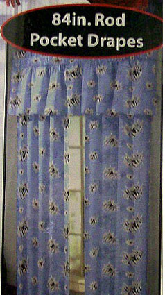Spiderman 3 Window Drapes - 84 Inch