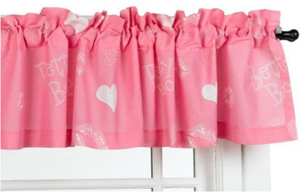 Betty Boop Window Valance