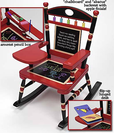 Schoolhouse Kids Rocker Free Shipping