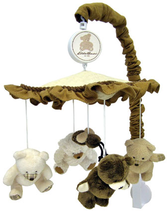 Eddie Bauer Musical Mobile Teddy Bear