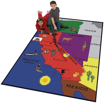 California Kids Educational Carpet
