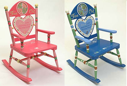 Kids Rocking Chairs - Time Out Free Shipping