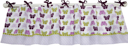 Kimberly Grant Bohemian Butterfly Window Valance