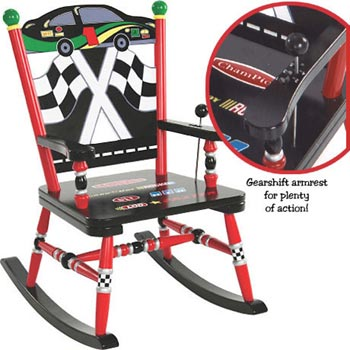 Race Car Kids Rocker Free Shipping