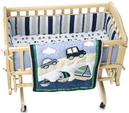Cambridge Cradle Bedding 3 Pc Set Boys by Kidsline
