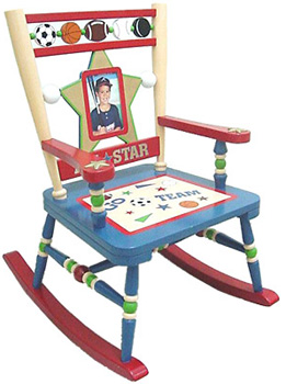 Kids Rocking Chair - All Star Sports Free Shipping