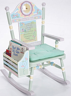 Time To Read Kids Rocking Chair Free Shipping