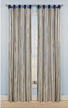 Disney Plane Crazy Stripes Window Drapes