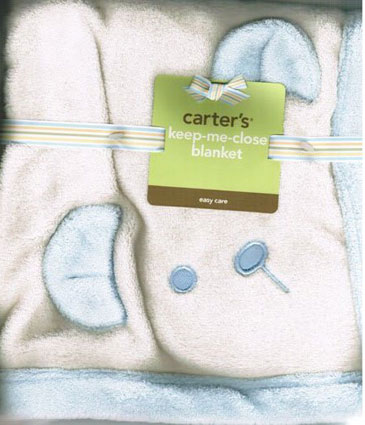 Keep-me-close Puppy Baby Blanket by Carter's