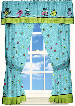 Mr. Men Little Miss Window Valance