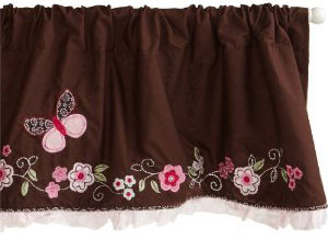 Carter's Butterfly Flowers Window Valance