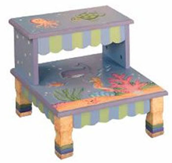 Under the Sea Step Stool by Teamson Kids