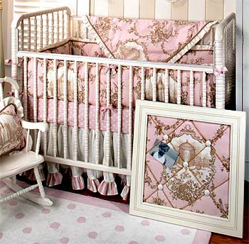 English Rose Garden Crib Bedding Set
