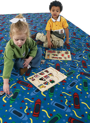 Scribbles Kids Fun Carpet