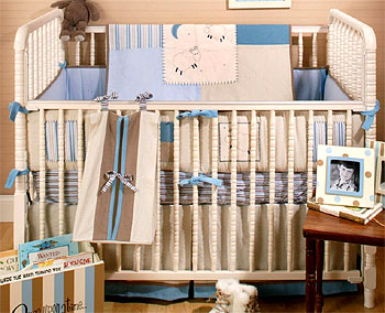 Out of Stock Night Night 4-pc Crib Bedding Set