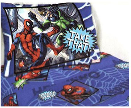 The Amazing Spiderman Twin Sheet Set
