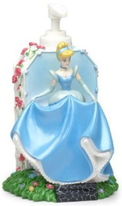 Disney Princess Flowers Lotion Pump