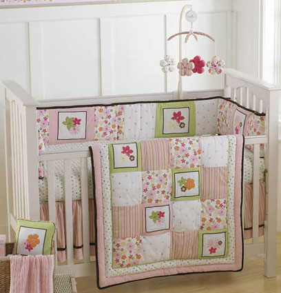 Hannah Baby Crib Bedding 4 Piece Set by Nautica Kids