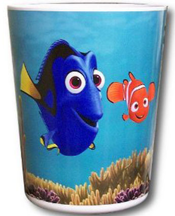 Disney Finding Nemo Plastic Waste Basket