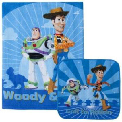 Disney Toy Story Bath Towel & Wash Cloth Set