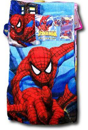 Spiderman Bath Towel & Wash Cloth Set