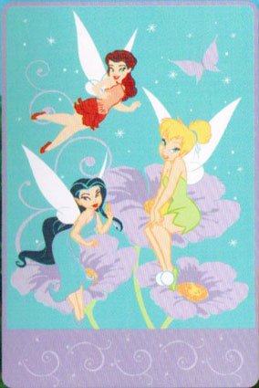 Disney Tinkerbell Toddler Blanket - Flower Friends