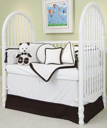 MOD Frog Crib Bedding Set by Green Frog Art