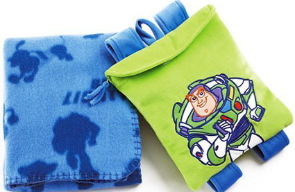 Disney Toy Story Blanket with Toddler Backpack
