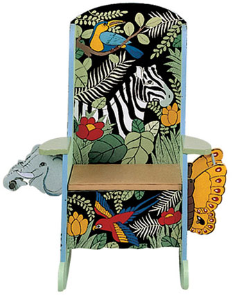 Jungle Themed Potty Chair / Rocker by Teamson Kids