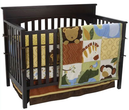 African Dreams 6-Piece Crib Bedding Set by Kidsline Free Shipping