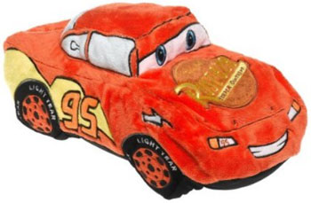 Disney Cars Lightning McQueen Shape Pillow
