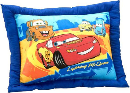 Disney Cars Catch My Drift Pillow
