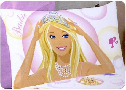 Barbie Standard Pillowcase