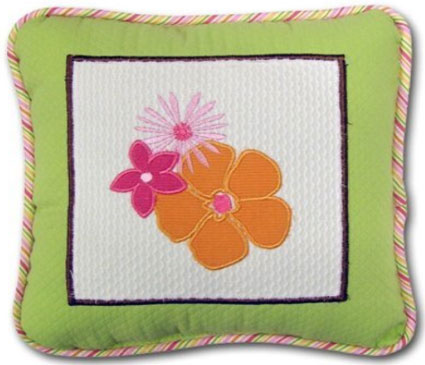 Hannah Decorative Pillow by Nautica Kids