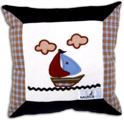 Jack Decorative Pillow by Nautica Kids