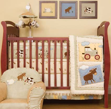 Farm House Baby Crib Bedding By Kidsline