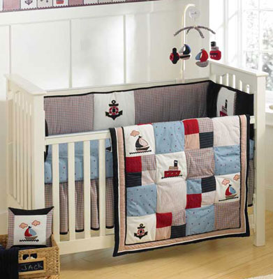 Out of stock Jack Baby Crib Bedding by Nautica Kids 4 Piece Set Free Shipping