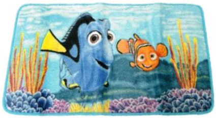 Finding Nemo Bath Rug