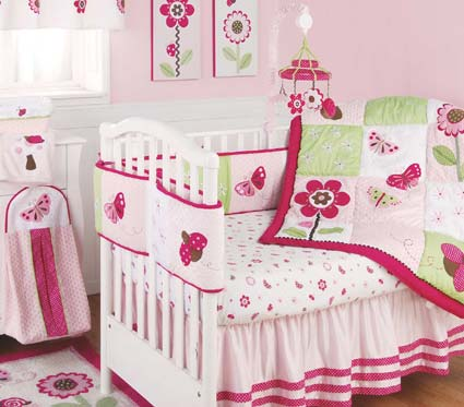 Berry Garden Baby Crib Bedding By Kidsline