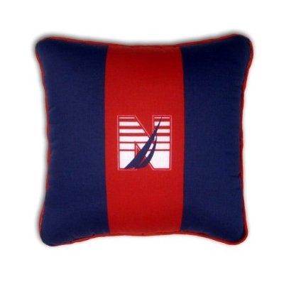 Brendan J Class Kids Throw Pillow by Nautica Kids