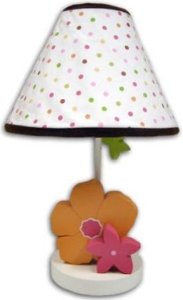 Hannah Nursery Lamp and Shade by Nautica Kids