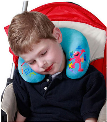 Sesame Street Elmo Travel Neck Pillow