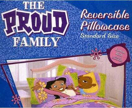 Disney The Proud Family Pillowcase