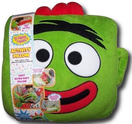 Yo Gabba Gabba Brobee Activity Book & Pillow