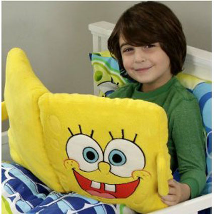 SpongeBob Squarepants Activity Book & Pillow