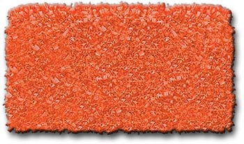 Shaggy Raggy Tangerine Cotton Jersey Kid's Rug