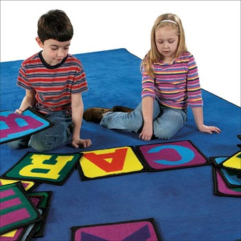 Building Blocks Activity Kids Carpet Squares