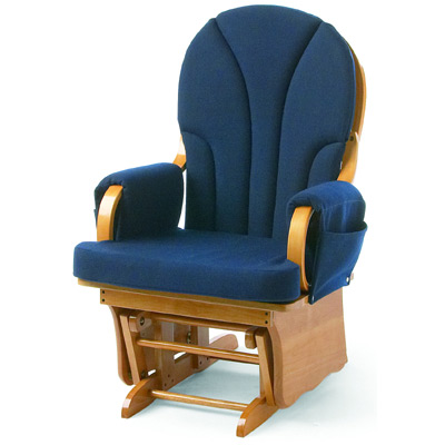 Oversize Plush Adult Glider Rocker by Foundations