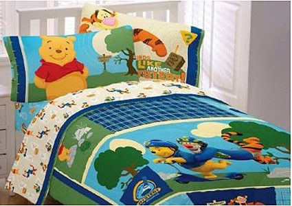 Winnie the Pooh Full Comforter Sounds Like a Mystery