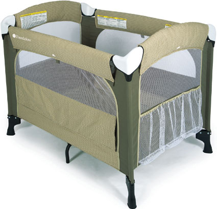 Ultra Portable Crib - Elite Cilantro by Foundations